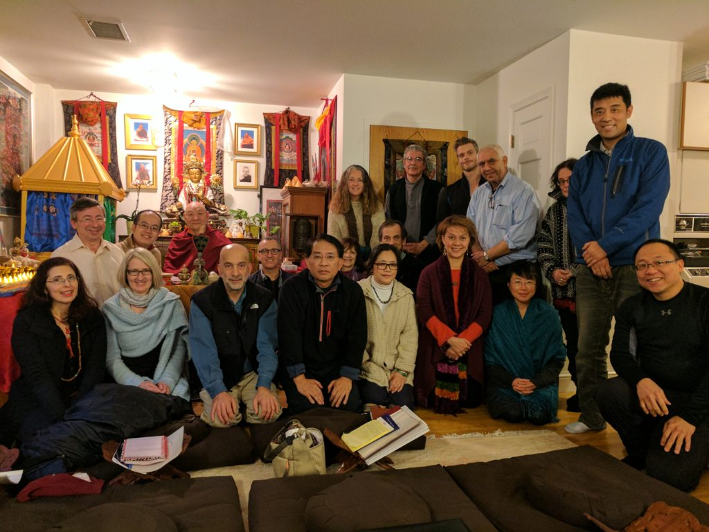 Shri Chakrasamvara Body Mandala Retreat at Sakya Institute, Cambridge MA - December 2016