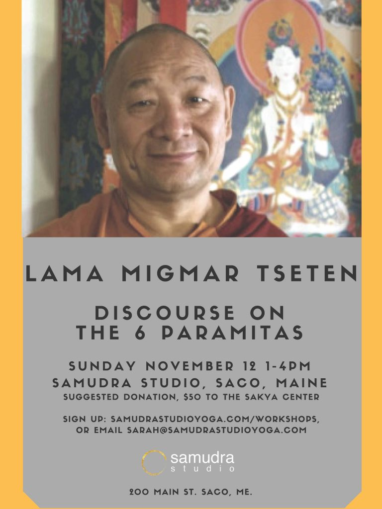 Lama Migmar Discourse on Six Paramitas