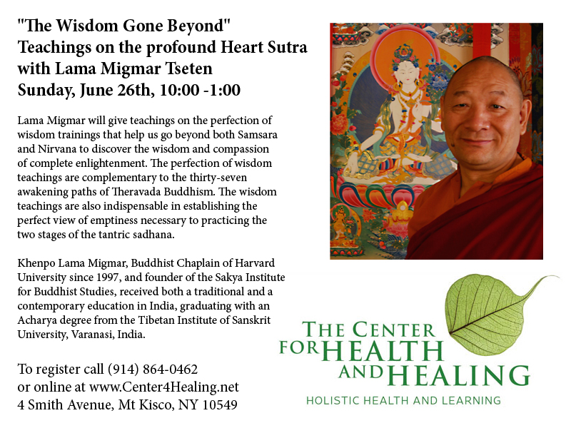 Heart Sutra flyer
