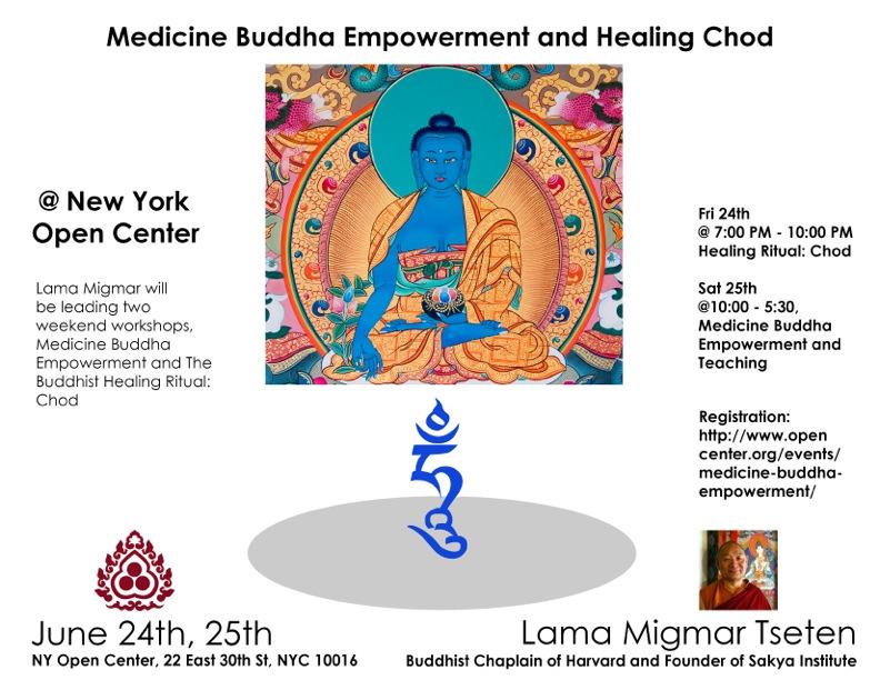 Medicine Buddha Open Center