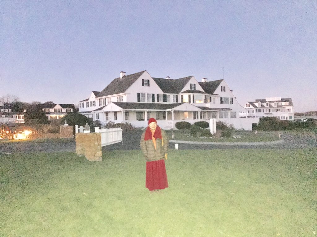 November 13th, 2016 - Lama Migmar visiting Kennedy Compound at Hyannis, MA.jpg