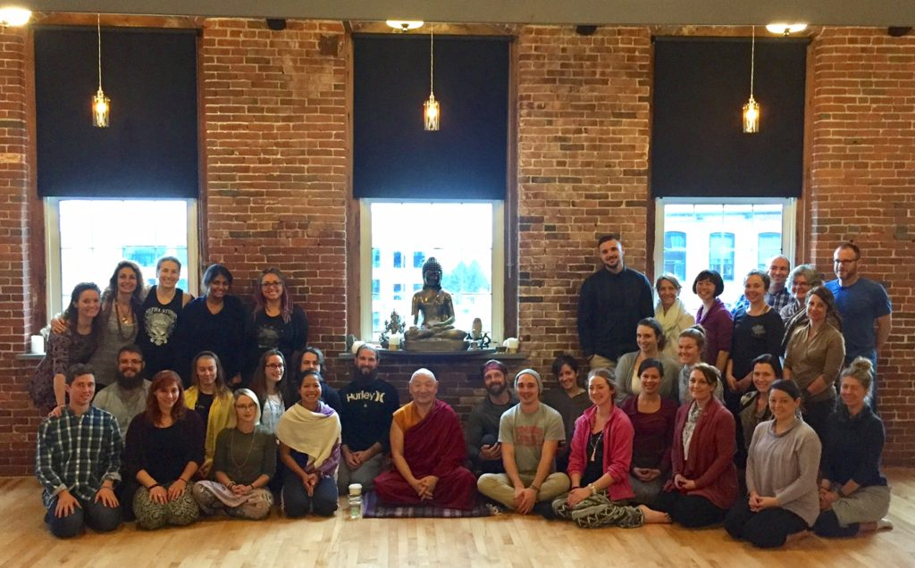 Six Paramita workshop with Khenpo Migmar at Sutra Studio, MA on Saturday October 22nd 2016