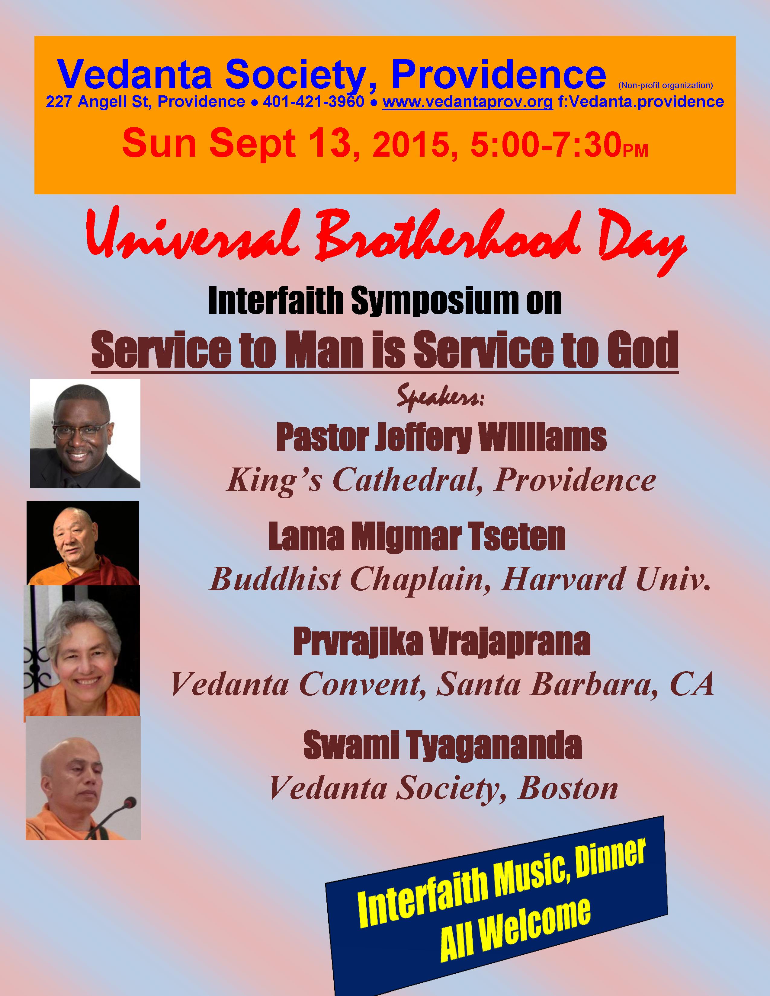 Universal Brotherhood 15 poster