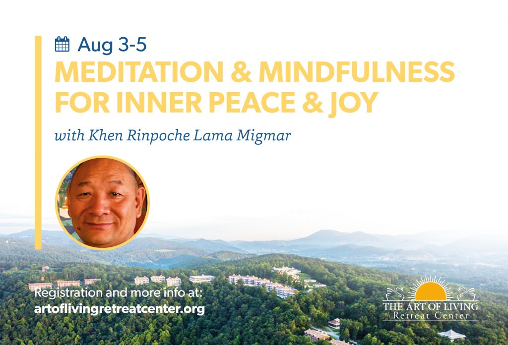 Meditation & Mindfulness with Lama Migmar