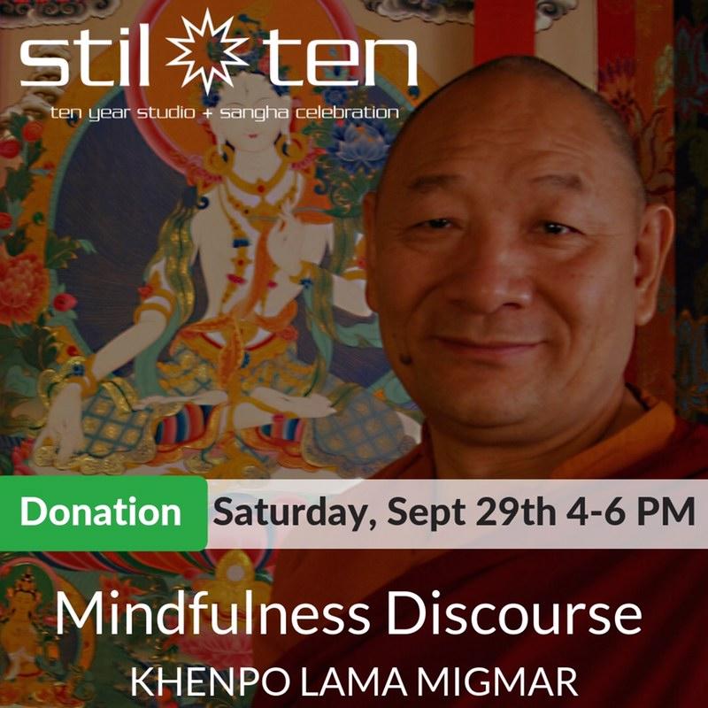 Lama Migmar Mindfulness Discourse